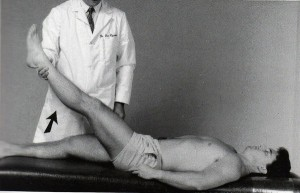 椎間板ヘルニアテスト