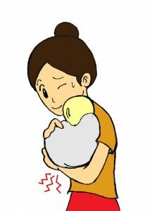 育児中の腱鞘炎