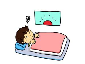 仰向けに寝ると腰が痛い