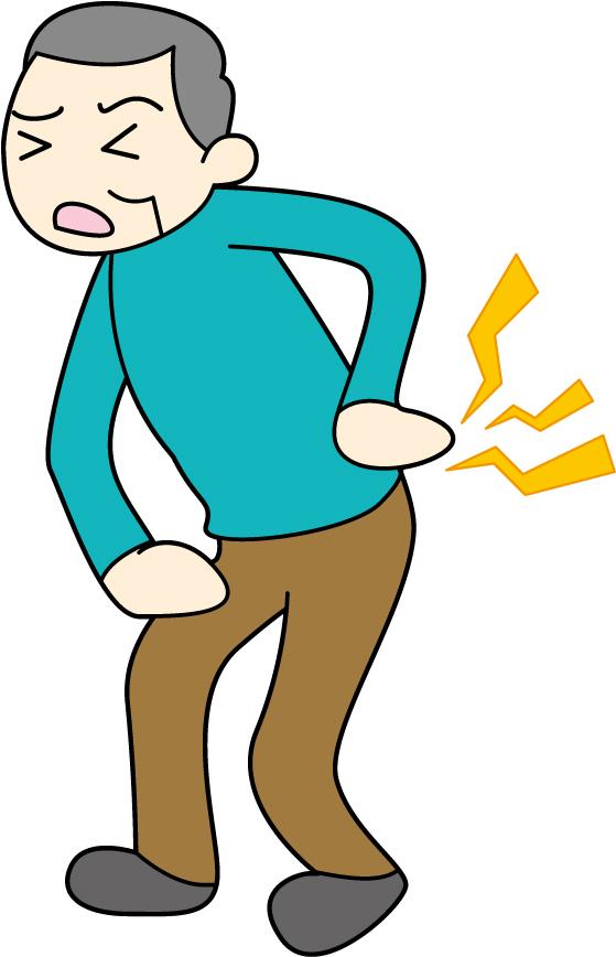 腰の痛みと腎臓