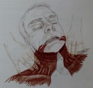 ほうれい線と肩の痛み